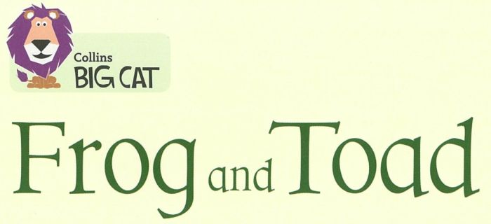 BigCat Frog and Toad heading